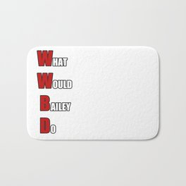 WWBD Bath Mat