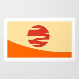 Samurai Champloo- Sunset Art Print