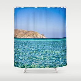 Elafonisi beach Shower Curtain
