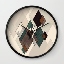 Diamondz Wall Clock