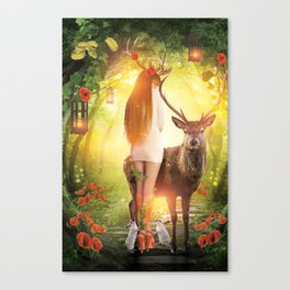 My Dear Forest Canvas Print