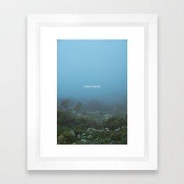 A Distant Memory Framed Art Print