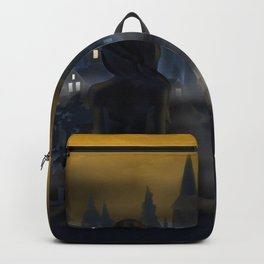 Girl Watching City Backpack