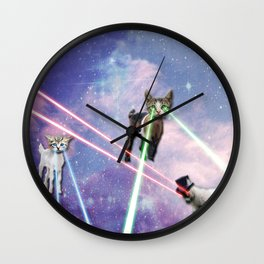 Laser Goattens!!! Wall Clock