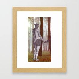 Warrior of the Forest Framed Art Print