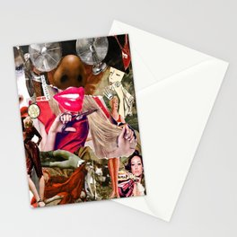 Hot Lips Stationery Cards