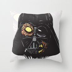 Vader Zombie Throw Pillow