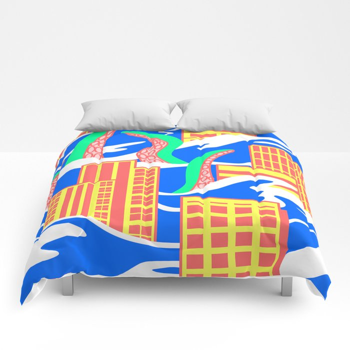 Flooded Comforters