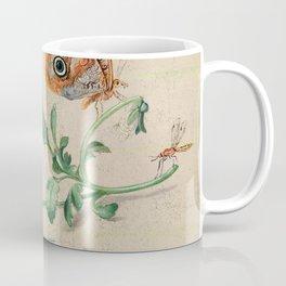 "Jan van Kessel de Oude ""Study of insects and flowers"" Coffee Mug"