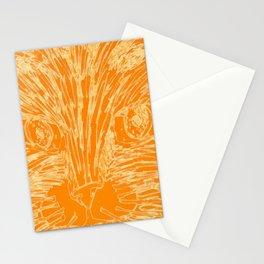 Orange Kitty Stationery Cards