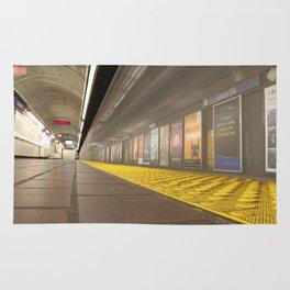 Motion Blur Granville Skytrain 3 Rug