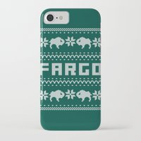 sweater iPhone & iPod Cases featuring Fargo Sweater by Mandrie