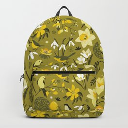 Finally Easter! [mustard] Backpack