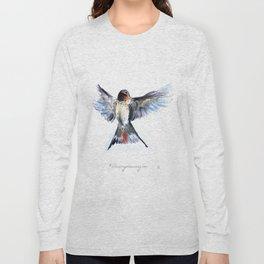 Chilean Swallow Long Sleeve T-shirt