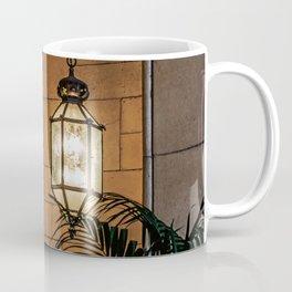 Hanging Lamp in the Hall of a Dark Moorish Castle Coffee Mug