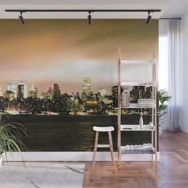 Empire State at Night, C Wall Mural