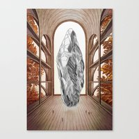 lighthouse Canvas Prints featuring Lighthouse by Isabel Seliger