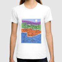 seoul T-shirts featuring Seoul City #1 by Rob McClelland