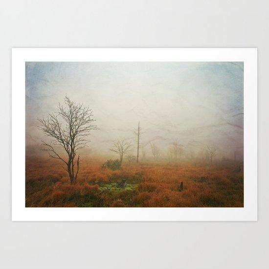 vanishing landscape Art Print