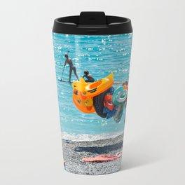 Summer Colours Metal Travel Mug