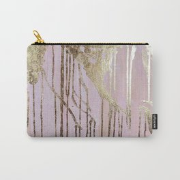 Gold Drips Carry-All Pouch