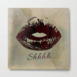 Lips JJEBXYE Metal Print
