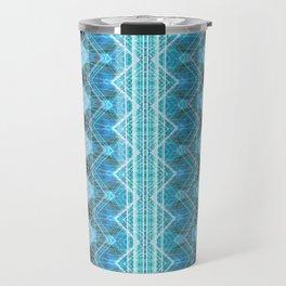 Aqueous Geometry Travel Mug