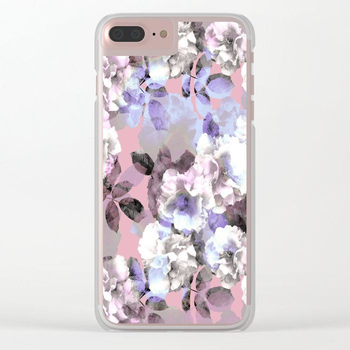 Vintage Floral Garden #society6 #decor #buyart Clear iPhone Case