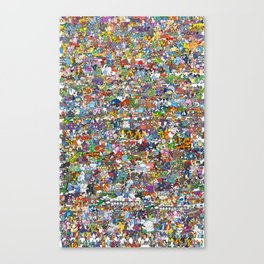 pokeman Canvas Print