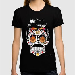 SKULL ROCK / Famous Musical Groups - Symbols - Digital Illustration Art - Pop Art - Wall Decor T-shirt