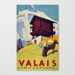 Valais, CH, Switzerland Canvas Print