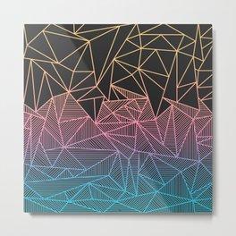 Brody Rays Metal Print