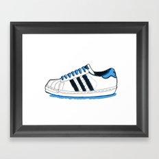 Adidas Originals Superstar Framed Art Print