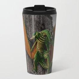 Dragon & Castle Artwork Travel Mug