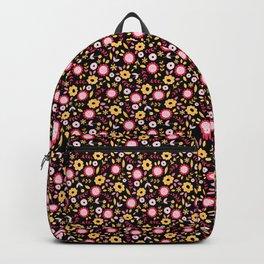 Vintage Autumn - flower pattern Backpack