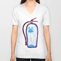 vans V-neck T-shirts featuring Vans & Color Magazine by Hugo Diaz Romero