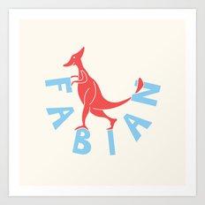 Fabianosaurus Art Print