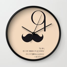 MR. - FontLove Wall Clock