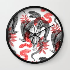Old Ghosts Wall Clock