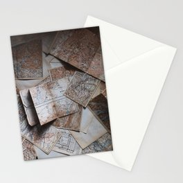 Maps On Maps Stationery Cards