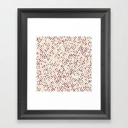 Cranberry Salad Framed Art Print