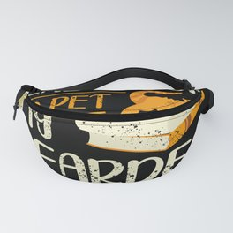 I Just Want To Read Books And Pet My Bearded Dragon Fanny Pack