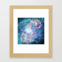 Abstract Galaxies 2 Framed Art Print