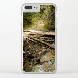 Do Nothing Clear iPhone Case