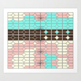 desert modernism Art Print