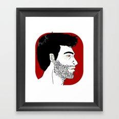 derek Framed Art Print