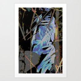 ALASKA: ice~geist XIII Art Print