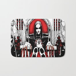 Bloody Mary on the Throne Bath Mat