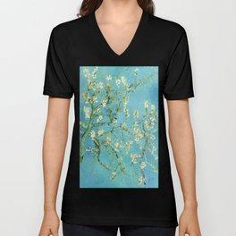Vincent Van Gogh Almond Blossoms Unisex V-Neck