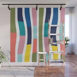 Pantone Colors Geometric Wall Mural